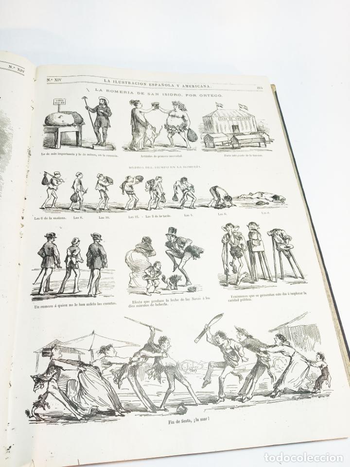 Libros antiguos: La ilustración Española y Americana. Año completo. 1871. Profusamente ilustrado. Folio. - Foto 16 - 221093098