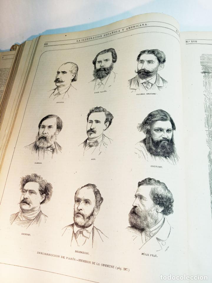 Libros antiguos: La ilustración Española y Americana. Año completo. 1871. Profusamente ilustrado. Folio. - Foto 17 - 221093098