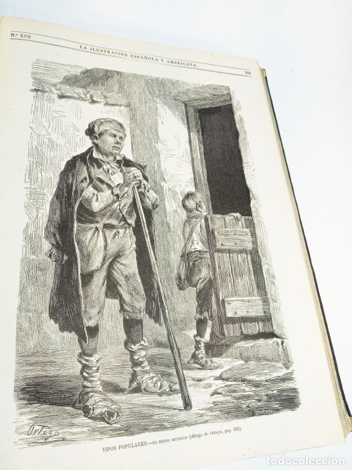Libros antiguos: La ilustración Española y Americana. Año completo. 1871. Profusamente ilustrado. Folio. - Foto 18 - 221093098