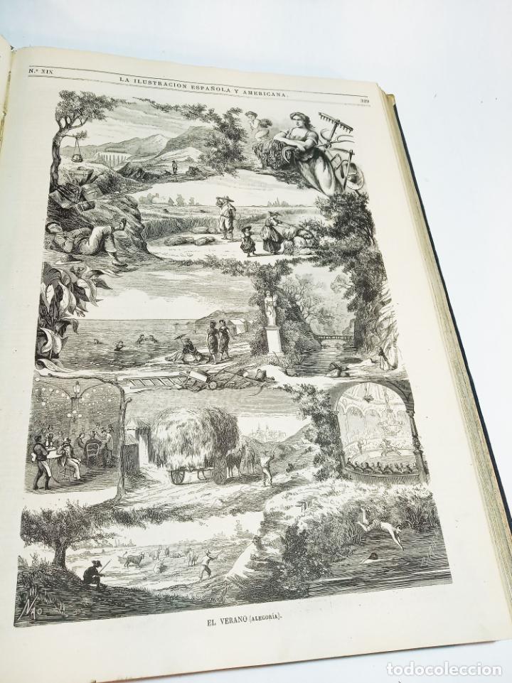 Libros antiguos: La ilustración Española y Americana. Año completo. 1871. Profusamente ilustrado. Folio. - Foto 19 - 221093098