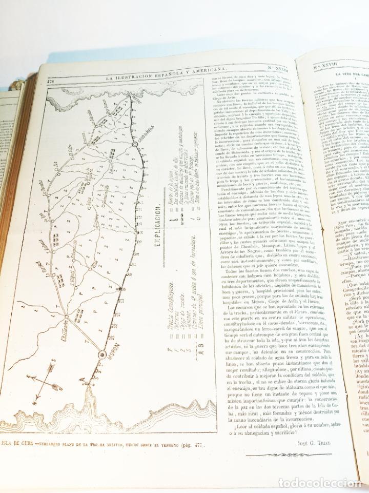 Libros antiguos: La ilustración Española y Americana. Año completo. 1871. Profusamente ilustrado. Folio. - Foto 22 - 221093098