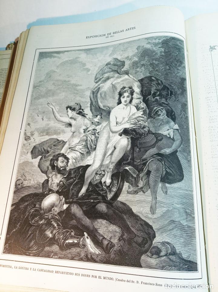 Libros antiguos: La ilustración Española y Americana. Año completo. 1871. Profusamente ilustrado. Folio. - Foto 24 - 221093098