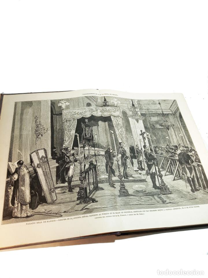 Libros antiguos: La ilustración Española y Americana. Segundo semestre. 1878. Profusamente ilustrado. Folio. - Foto 4 - 221096045