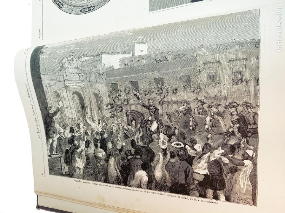 Libros antiguos: La ilustración Española y Americana. Segundo semestre. 1878. Profusamente ilustrado. Folio. - Foto 5 - 221096045