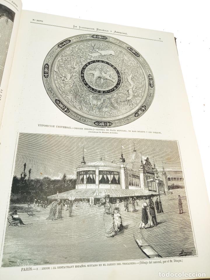 Libros antiguos: La ilustración Española y Americana. Segundo semestre. 1878. Profusamente ilustrado. Folio. - Foto 6 - 221096045