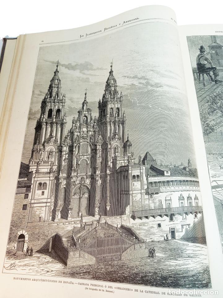 Libros antiguos: La ilustración Española y Americana. Segundo semestre. 1878. Profusamente ilustrado. Folio. - Foto 7 - 221096045