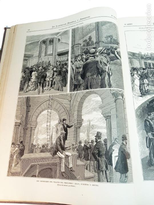Libros antiguos: La ilustración Española y Americana. Segundo semestre. 1878. Profusamente ilustrado. Folio. - Foto 9 - 221096045