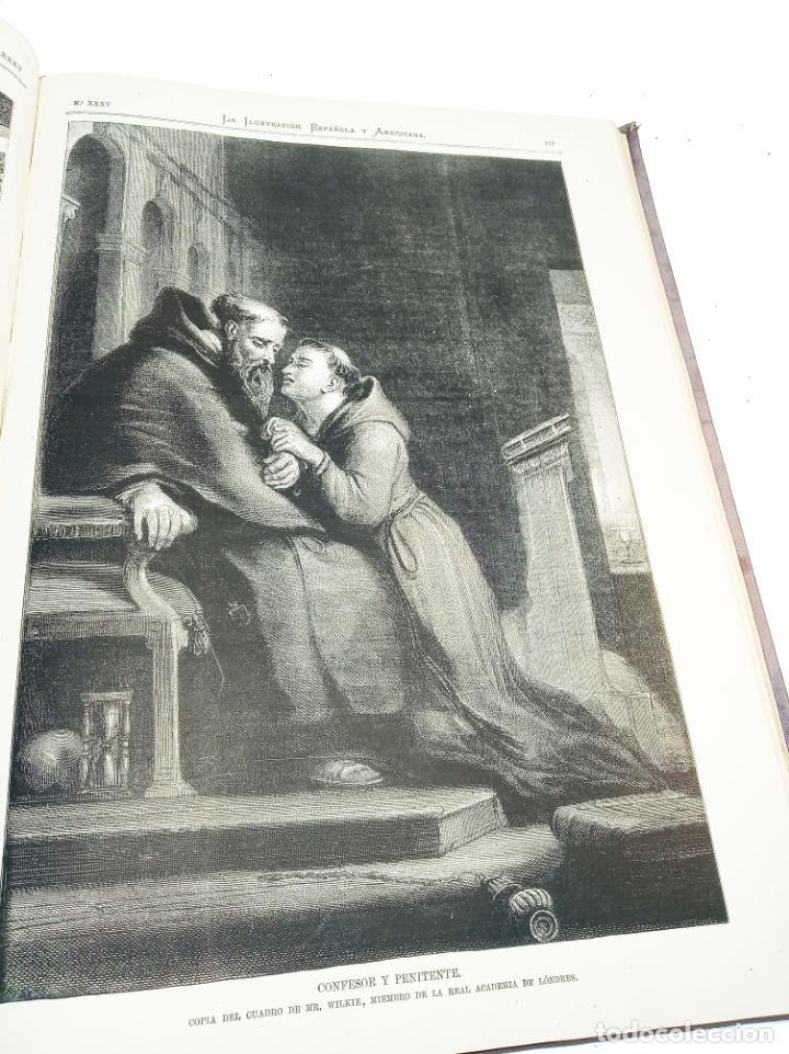 Libros antiguos: La ilustración Española y Americana. Segundo semestre. 1878. Profusamente ilustrado. Folio. - Foto 12 - 221096045