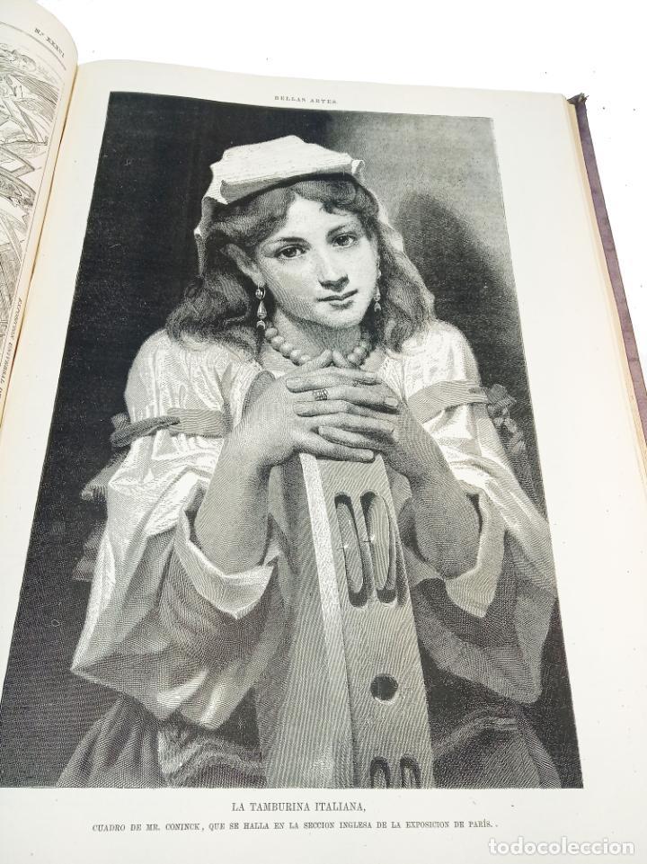 Libros antiguos: La ilustración Española y Americana. Segundo semestre. 1878. Profusamente ilustrado. Folio. - Foto 13 - 221096045