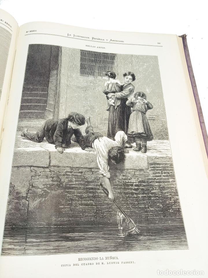 Libros antiguos: La ilustración Española y Americana. Segundo semestre. 1878. Profusamente ilustrado. Folio. - Foto 16 - 221096045