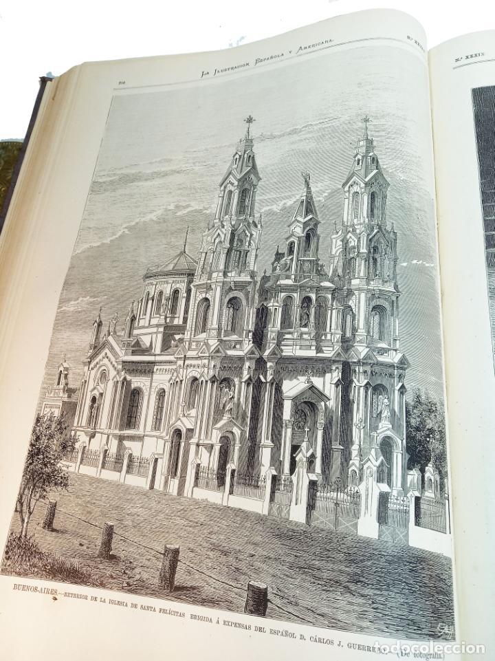Libros antiguos: La ilustración Española y Americana. Segundo semestre. 1878. Profusamente ilustrado. Folio. - Foto 17 - 221096045