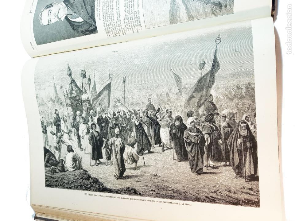 Libros antiguos: La ilustración Española y Americana. Segundo semestre. 1878. Profusamente ilustrado. Folio. - Foto 19 - 221096045