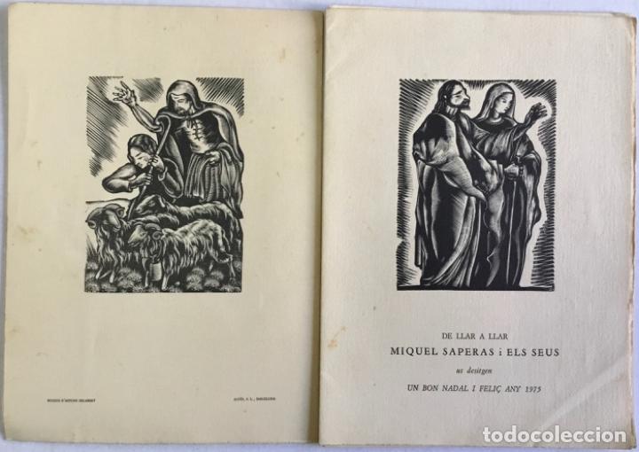 Libros antiguos: DE LLAR A LLAR. - SAPERAS, Miquel. - Foto 3 - 123245867