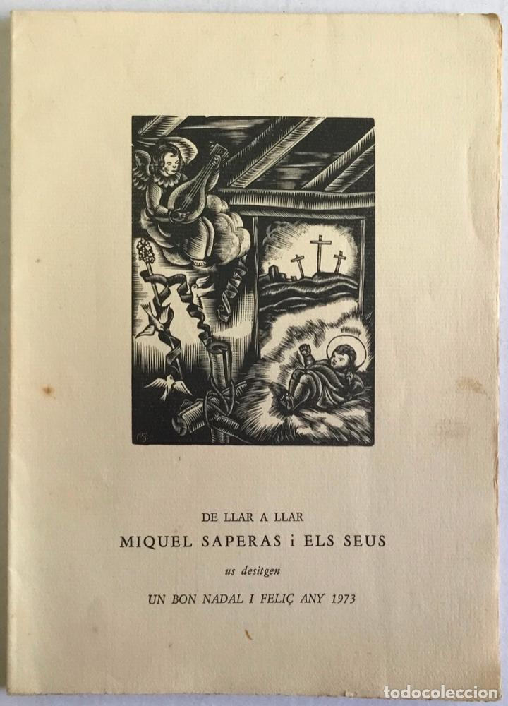 DE LLAR A LLAR. - SAPERAS, MIQUEL. (Libros Antiguos, Raros y Curiosos - Literatura - Otros)