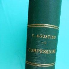 Libros antiguos: S. AGOSTINO - CONFESSIONI - G. BARBÉRA EDITORE 1909 .. Lote 221156817