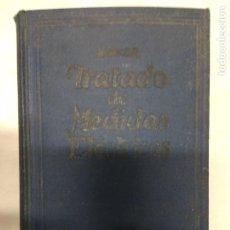 Libros antiguos: TRATADO DE MEDIDAS ELÉCTRICAS. P. B. ARTURO LINKER. 1927.. Lote 221171161