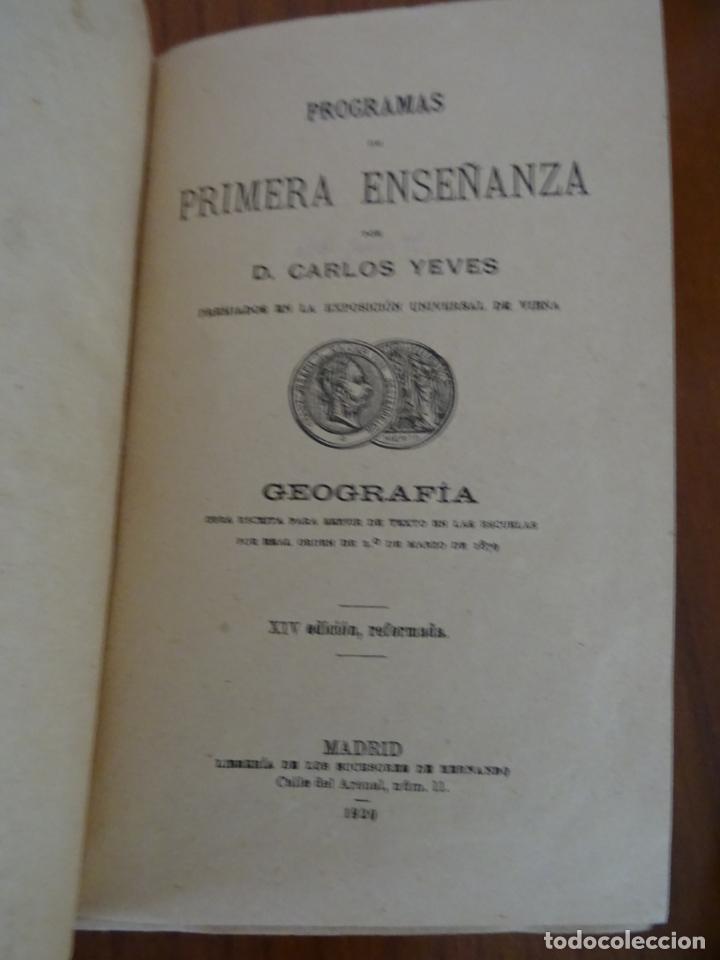 Libros antiguos: lote 4 libros antiguos de escuela, siglo XIX y XX - Foto 3 - 221232612