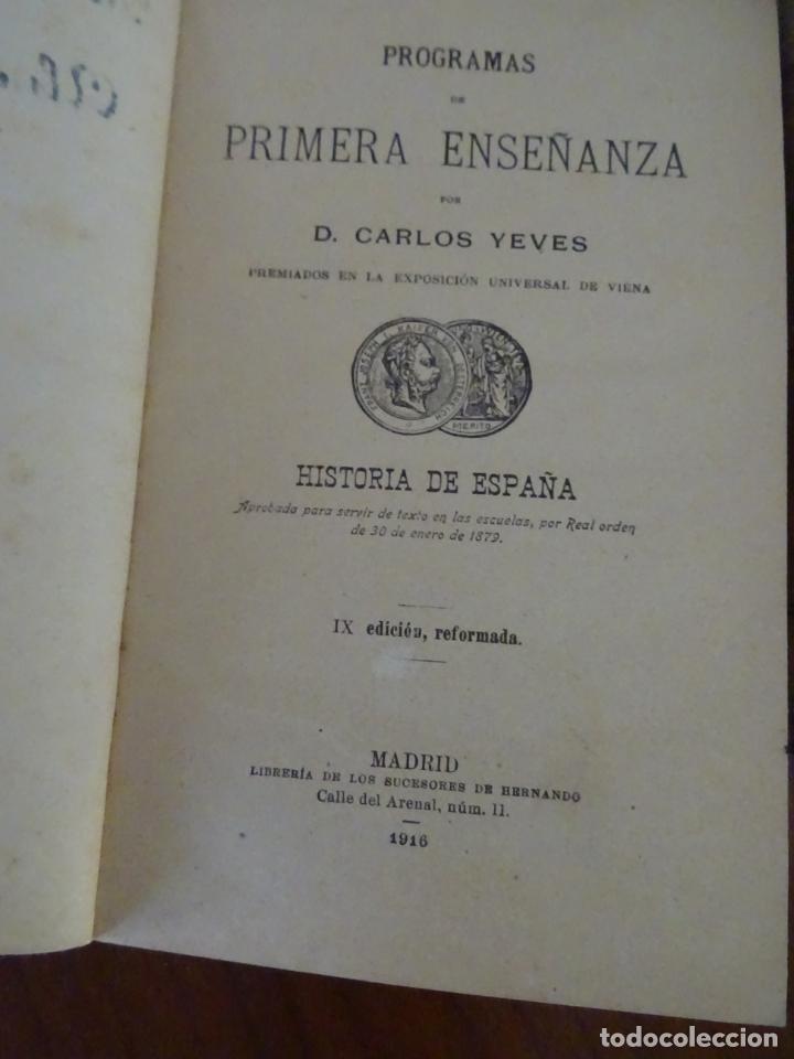 Libros antiguos: lote 4 libros antiguos de escuela, siglo XIX y XX - Foto 7 - 221232612