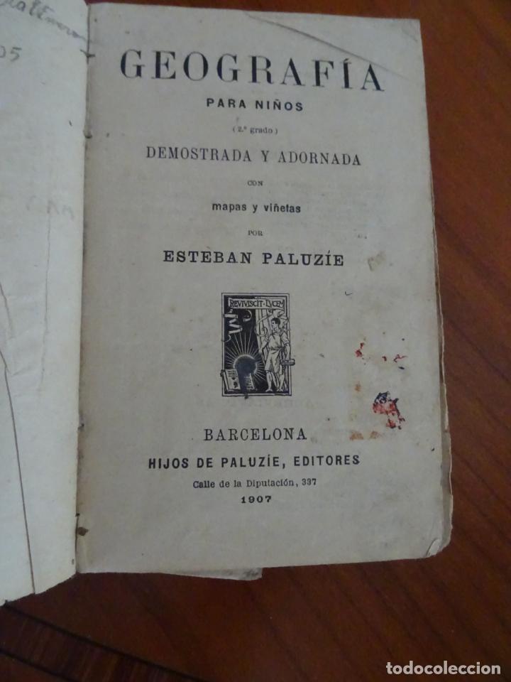 Libros antiguos: lote 4 libros antiguos de escuela, siglo XIX y XX - Foto 10 - 221232612