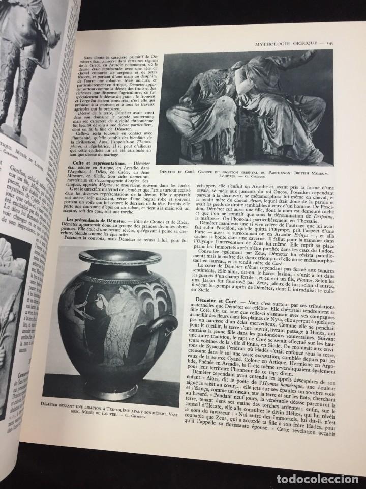 Libros antiguos: Mythologie générale. Félix Guirand, Editorial: Larousse, 1935 Francés - Foto 4 - 221337960