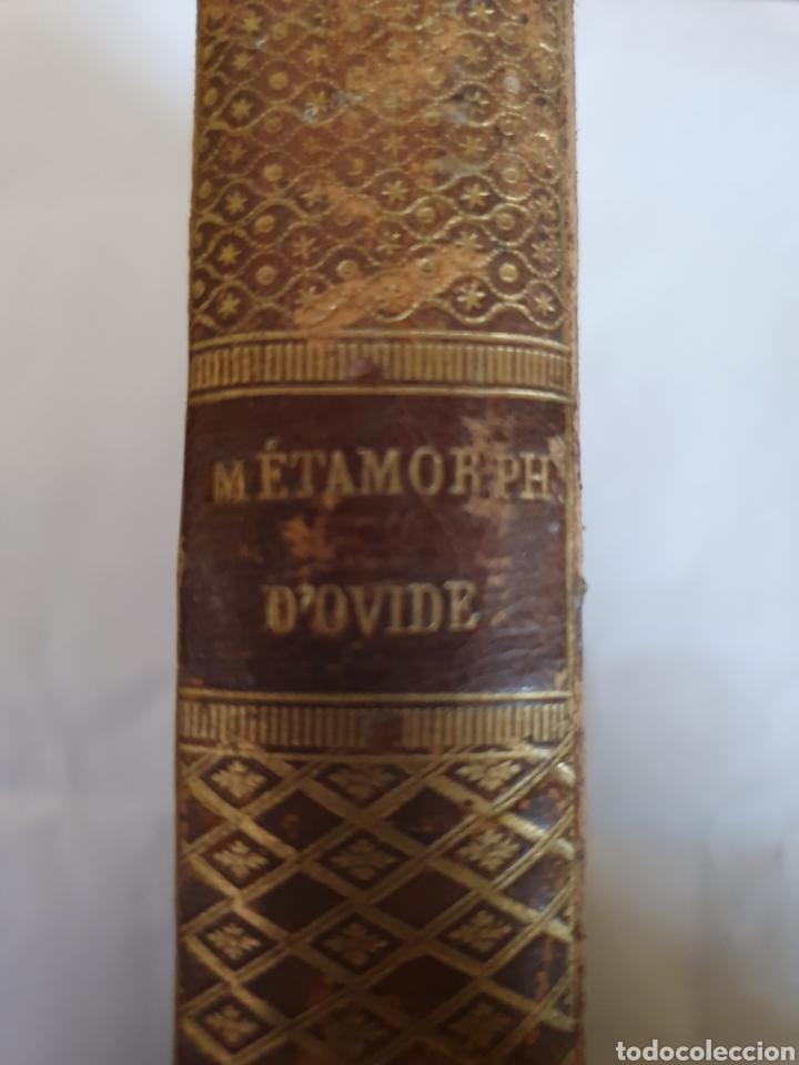 Libros antiguos: LIBRO LES METAMORPHOSES DOVIDE , - Foto 3 - 221343292
