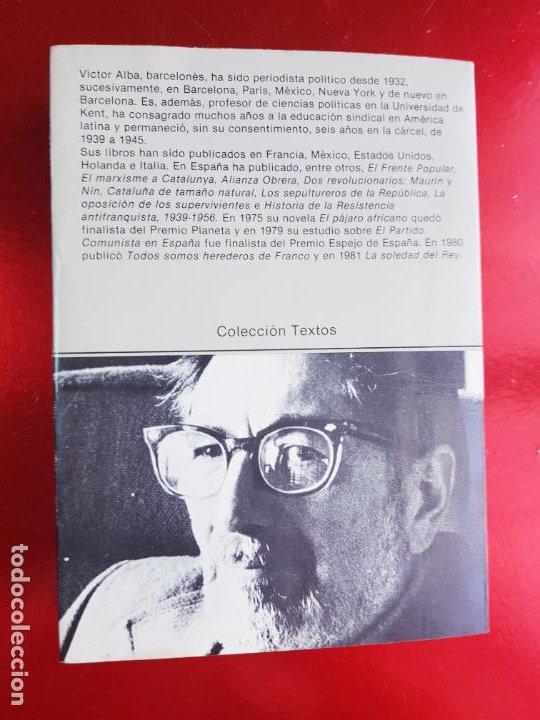 Libros antiguos: LIBRO-LOS CONSERVADORES EN ESPAÑA-VICTOR ALBA-VER FOTOS - Foto 4 - 221417868