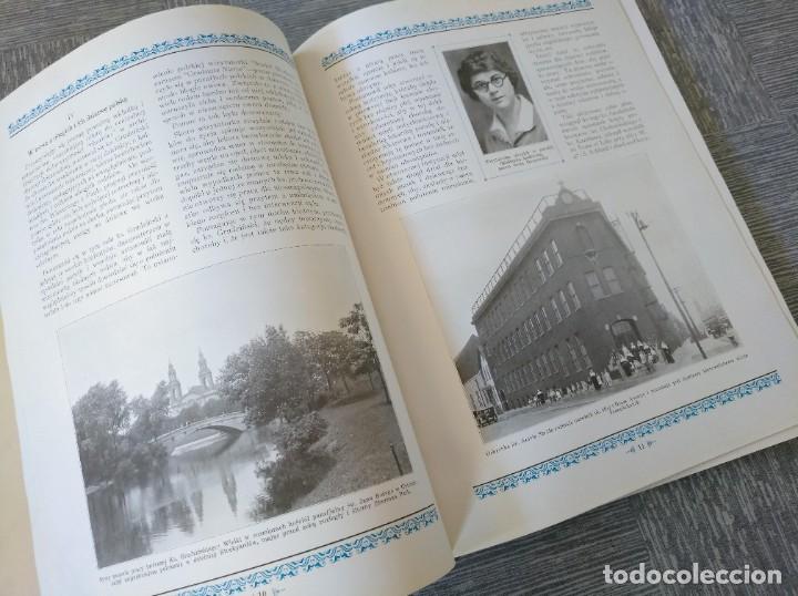 Libros antiguos: CURIOSO LIBRO DE LA COMUNIDAD POLACA DE EEUU (CHICACO, ILLINOIS, 1928): PAMIETNIK JUBILEUSZOWY - Foto 6 - 221457287