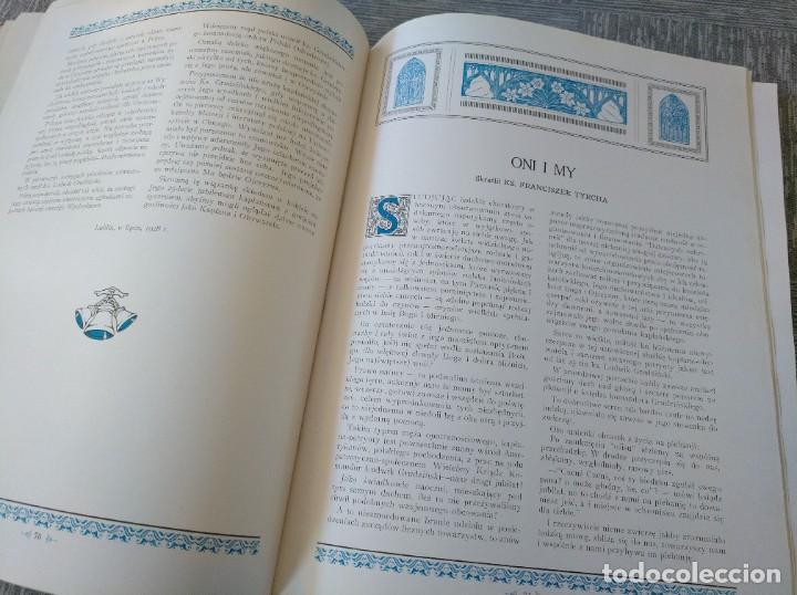 Libros antiguos: CURIOSO LIBRO DE LA COMUNIDAD POLACA DE EEUU (CHICACO, ILLINOIS, 1928): PAMIETNIK JUBILEUSZOWY - Foto 11 - 221457287