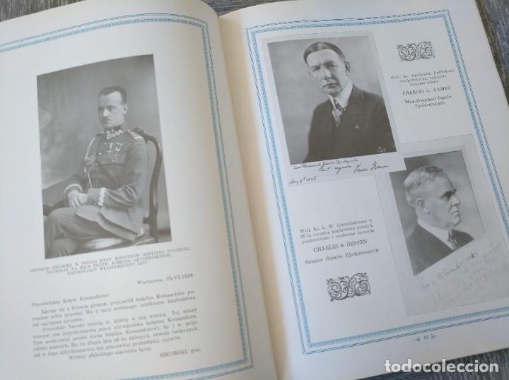 Libros antiguos: CURIOSO LIBRO DE LA COMUNIDAD POLACA DE EEUU (CHICACO, ILLINOIS, 1928): PAMIETNIK JUBILEUSZOWY - Foto 14 - 221457287