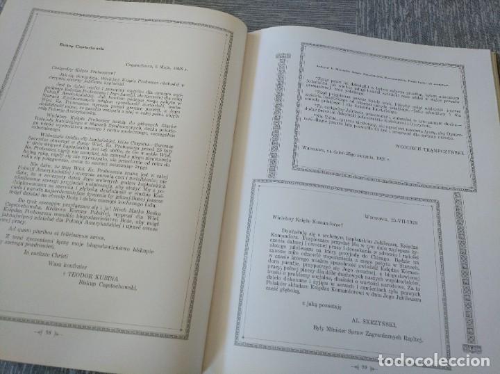 Libros antiguos: CURIOSO LIBRO DE LA COMUNIDAD POLACA DE EEUU (CHICACO, ILLINOIS, 1928): PAMIETNIK JUBILEUSZOWY - Foto 15 - 221457287