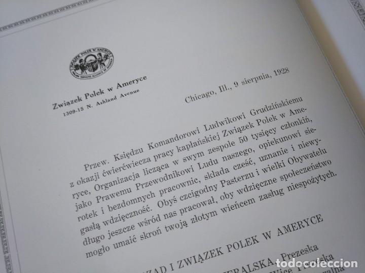 Libros antiguos: CURIOSO LIBRO DE LA COMUNIDAD POLACA DE EEUU (CHICACO, ILLINOIS, 1928): PAMIETNIK JUBILEUSZOWY - Foto 16 - 221457287