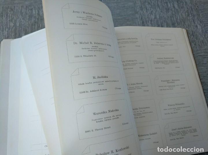 Libros antiguos: CURIOSO LIBRO DE LA COMUNIDAD POLACA DE EEUU (CHICACO, ILLINOIS, 1928): PAMIETNIK JUBILEUSZOWY - Foto 17 - 221457287