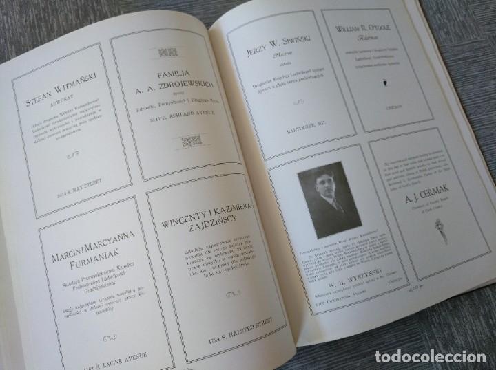 Libros antiguos: CURIOSO LIBRO DE LA COMUNIDAD POLACA DE EEUU (CHICACO, ILLINOIS, 1928): PAMIETNIK JUBILEUSZOWY - Foto 18 - 221457287