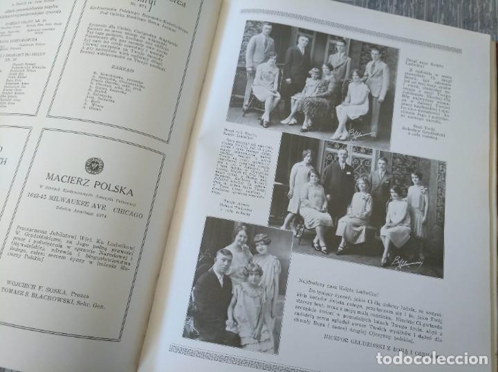 Libros antiguos: CURIOSO LIBRO DE LA COMUNIDAD POLACA DE EEUU (CHICACO, ILLINOIS, 1928): PAMIETNIK JUBILEUSZOWY - Foto 20 - 221457287