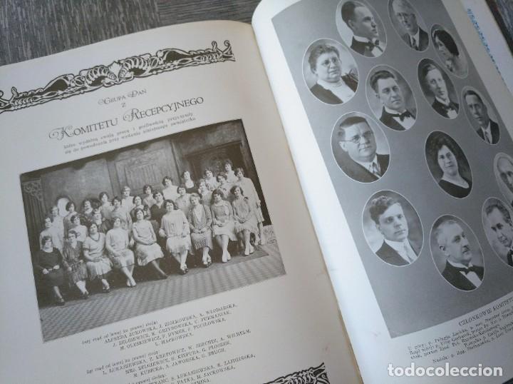 Libros antiguos: CURIOSO LIBRO DE LA COMUNIDAD POLACA DE EEUU (CHICACO, ILLINOIS, 1928): PAMIETNIK JUBILEUSZOWY - Foto 21 - 221457287