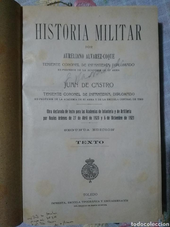 Libros antiguos: Historia militar - Foto 3 - 221513320