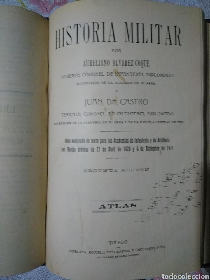 Libros antiguos: Historia militar - Foto 4 - 221513320