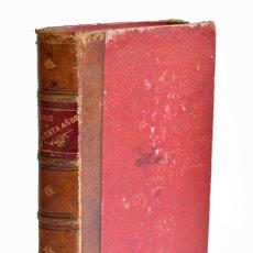 Libros antiguos: MADRID HACE CINCUENTA AÑOS A LOS OJOS DE UN DIPLOMÁTICO EXTRANJERO - DON RAMIRO. Lote 221550982