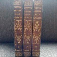 Livres anciens: SISTEMA DE LA NATURALEZA, BARÓN DE HOLBACH, AÑO 1823. Lote 221566096