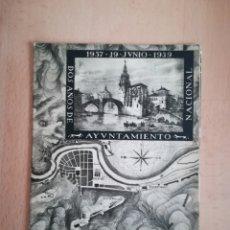 Libros antiguos: BILBAO DOS AÑOS DE AYUNTAMIENTO NACIONAL 1937-1939.. Lote 221568963