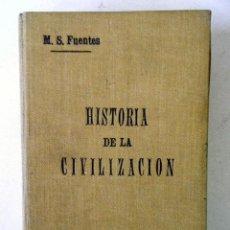 Libros antiguos: COMPENDIO DE HISTORIA DE LA CIVILIZACIÓN TOMO II (EDAD MEDIA). MAGDALENA S. FUENTES.. Lote 221585803