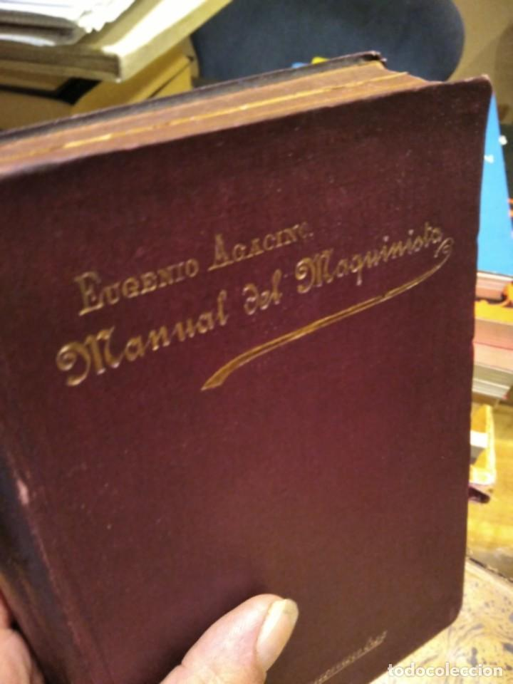 Libros antiguos: MANUAL DEL MAQUINISTA DE LA MARINA MERCANTE-EUGENIO AGACINO-TIPOGRAFIA GADITANA-1900 - Foto 4 - 221600307