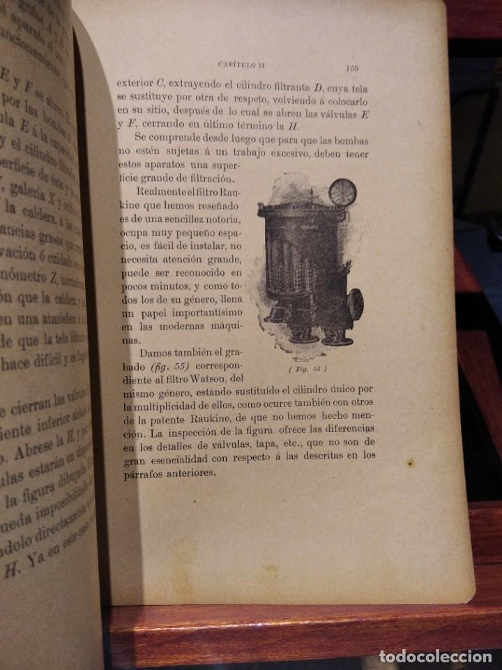 Libros antiguos: MANUAL DEL MAQUINISTA DE LA MARINA MERCANTE-EUGENIO AGACINO-TIPOGRAFIA GADITANA-1900 - Foto 9 - 221600307