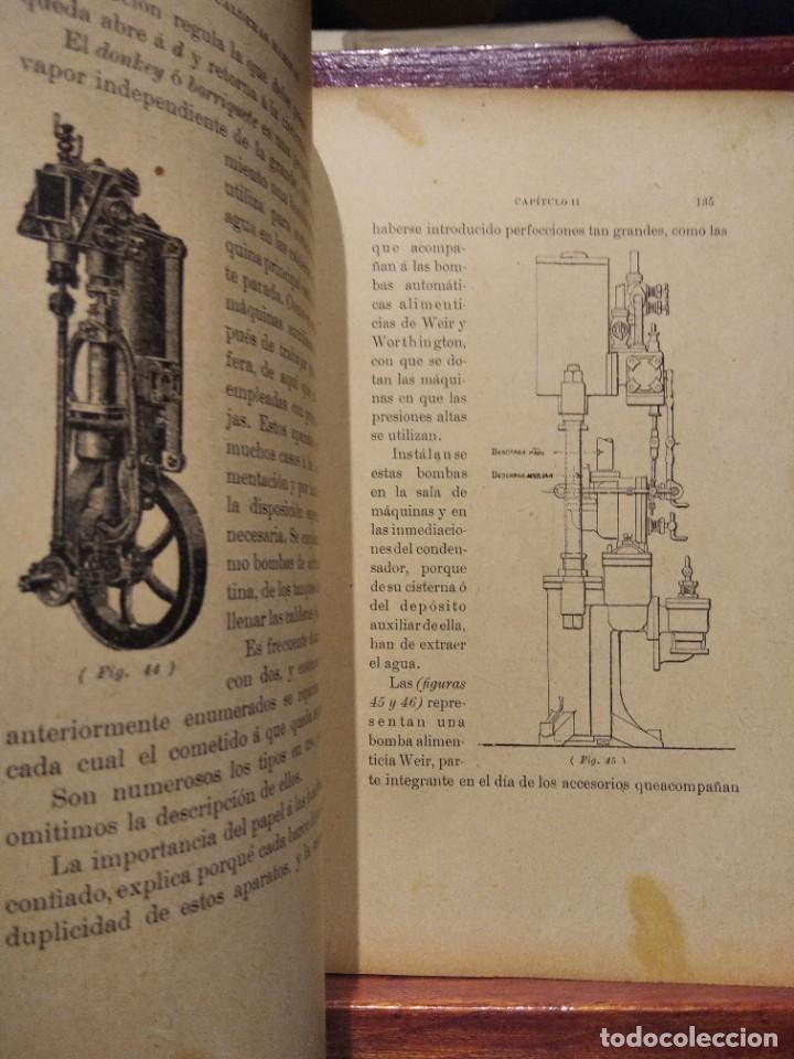 Libros antiguos: MANUAL DEL MAQUINISTA DE LA MARINA MERCANTE-EUGENIO AGACINO-TIPOGRAFIA GADITANA-1900 - Foto 10 - 221600307