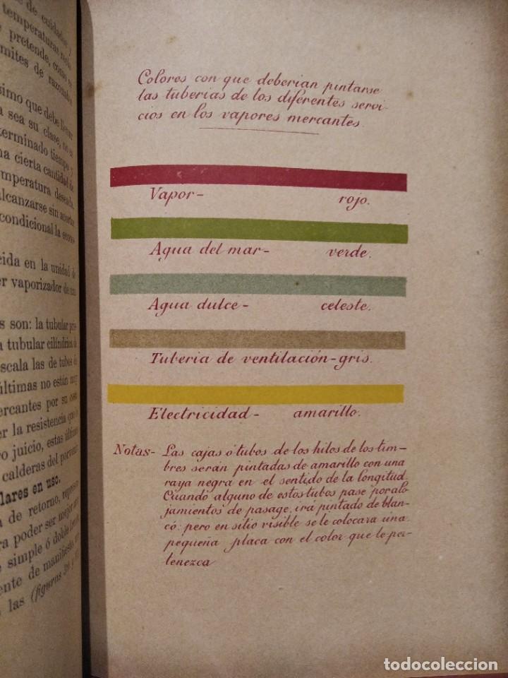 Libros antiguos: MANUAL DEL MAQUINISTA DE LA MARINA MERCANTE-EUGENIO AGACINO-TIPOGRAFIA GADITANA-1900 - Foto 12 - 221600307