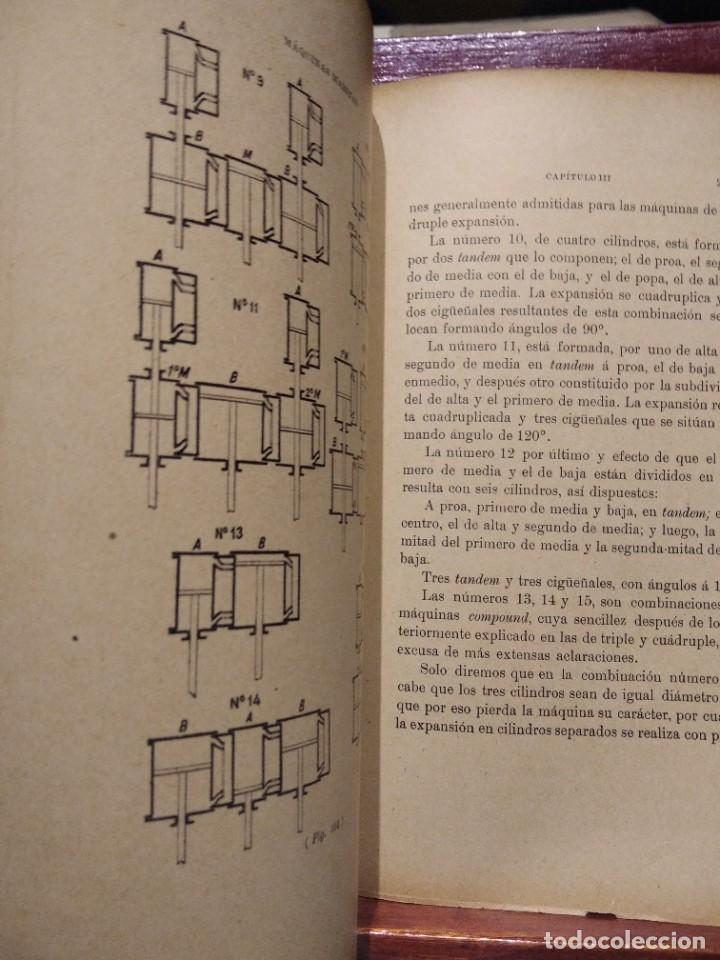 Libros antiguos: MANUAL DEL MAQUINISTA DE LA MARINA MERCANTE-EUGENIO AGACINO-TIPOGRAFIA GADITANA-1900 - Foto 13 - 221600307