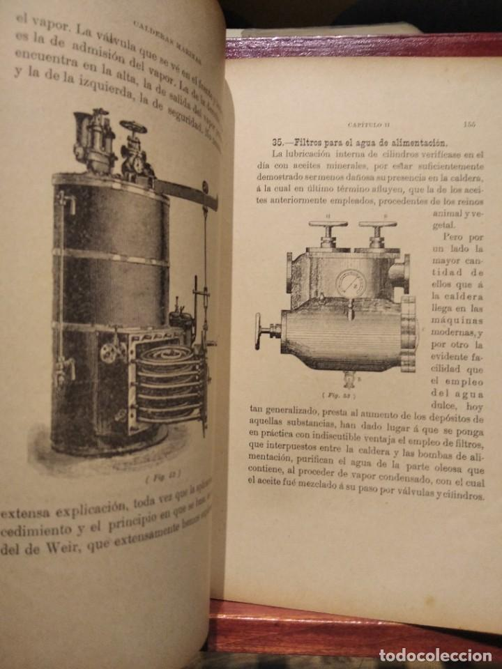 Libros antiguos: MANUAL DEL MAQUINISTA DE LA MARINA MERCANTE-EUGENIO AGACINO-TIPOGRAFIA GADITANA-1900 - Foto 16 - 221600307