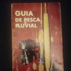 Libros antiguos: GUÍA PESCA FLUVIAL LA CORUÑA - NEYRA BELLIDO - 1964 96PAG 23CM, FOTOS MAPAS. Lote 221610857