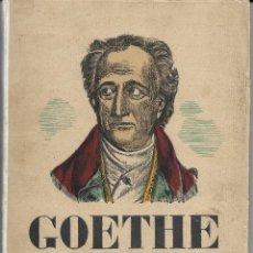 Libros antiguos: GOETHE, GENERALITAT DE CATALUNYA 1832-1932. Lote 221611735