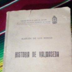 Livros antigos: HISTORIA DE VALMASEDA 1926 MARTIN DE LOS HEROS. Lote 221650168